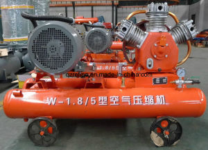 Kanshan Brand 11kw 5bar Electric Piston Mining Air Compressor W-1.8/5D pictures & photos