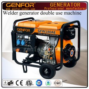 180A 5kw Diesel Welding and Generating Double Use machine for Arc Welder pictures & photos