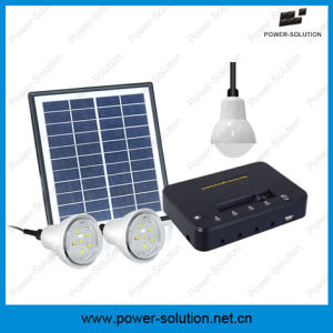 Solar Lighting Kit with 3 Bulbs pictures & photos