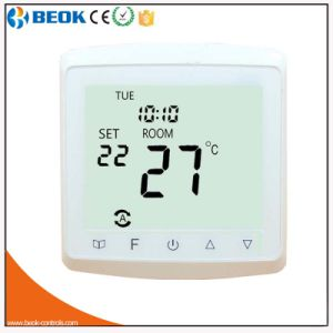 Colorful Glass Screen Programmable Thermostat for HVAC System pictures & photos