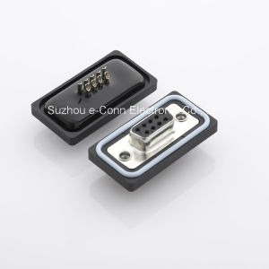 Waterproof D-SUB Retagular Connector pictures & photos