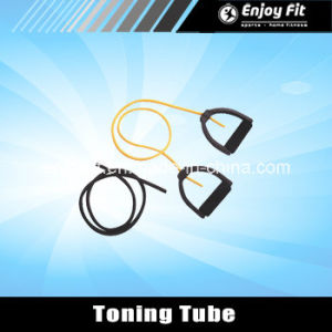 Resistance Toning Tube Resistance Band Color Vary