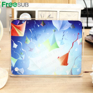 Freesub Factory Directly Sublimation Coated Blank Glass Photo Frame (BL-06) pictures & photos
