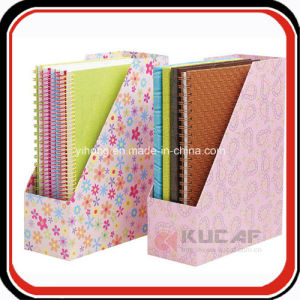 Custom Printing Desktop Paper Magazine Document File Holder pictures & photos