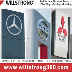 Aluminum Composite Panel Commercial Shop Signboard pictures & photos