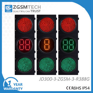 LED vehicle Signal Light Red Green Countdown Timer pictures & photos