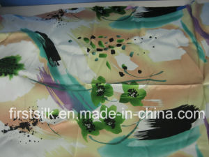 Stretch Polyester Satin Fabric pictures & photos