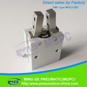 SMC Type Machine Air Gripper Finger Cylinder Model Mhc2-25D pictures & photos