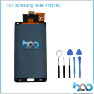 Mobile Phone LCD for Samsung Note4 Display Assembly