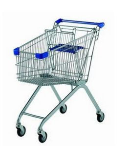 All New Design Supermarket Shopping Cart Trolley with High Quality pictures & photos