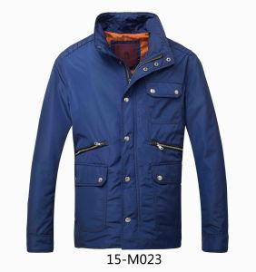 Men′s Spring/Autumn Leisure Long Jacket (15-m023) pictures & photos