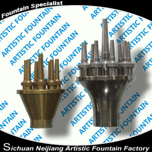 Three Layer Flower Nozzle for Fountain