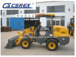 CS910 Fops&Rops Frame Wheel Loader with Sun Shading Top pictures & photos