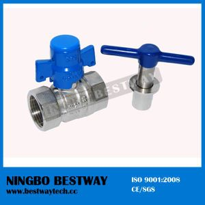 Hot Forged Brass Ball Valve with Lock for Water Meter pictures & photos