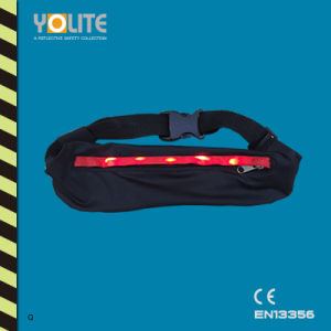 LED Running and Jogging Waist Belt Bag pictures & photos
