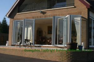 Topbright Wholesale Economic UPVC Folding Bifolding Window pictures & photos