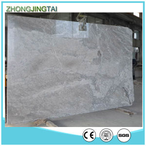 Artificial Mirror Cloudy / Pure White / Blue / Brown Marble Tile pictures & photos