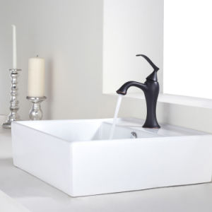 Hotel Bathroom Ceramic Wash Sink for Above Counter Sn109-019 pictures & photos