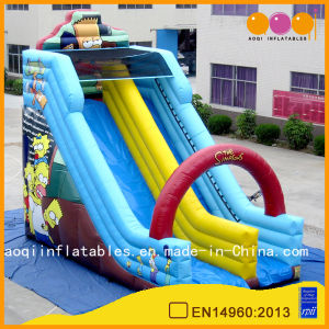Popular Cartoon Theme Inflatable Slide Sport Game (AQ1149-1) pictures & photos