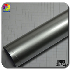 Car Vinyl Glossy Metalic Pearl Film Silver Car Wraps pictures & photos
