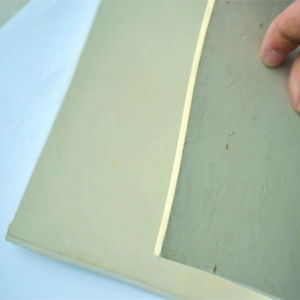 Hot Sale White Color Rubber Sheet Rubber Pad Rubber Plate pictures & photos