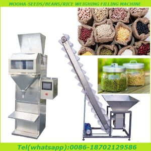 Semi Automatic Snack Food, Food Ingredients Weigh Filling Packaging Machine pictures & photos