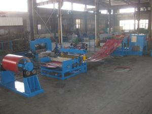 Sh4X1600mm High Speed Steel Coil Slitting Machine pictures & photos