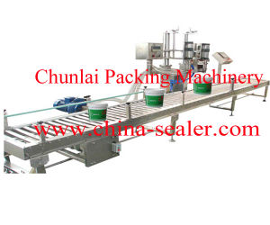 Automatic Painting Filling Sealing Capping Machine pictures & photos