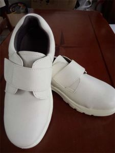 ESD Steel Cap and Midsole Safety Shoes White Safety Shoes pictures & photos