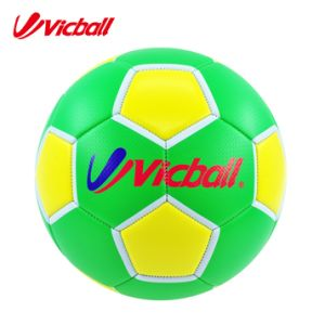 Machine Sewing PVC Leather Soccer Ball Size 5 Bulk pictures & photos