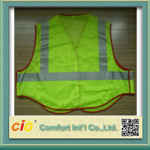 LED Traffic Warning High Visibility Flashing Safety Vest pictures & photos