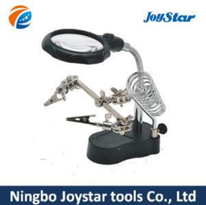 Helping Hand Clip LED Magnifier FDJ-002 pictures & photos