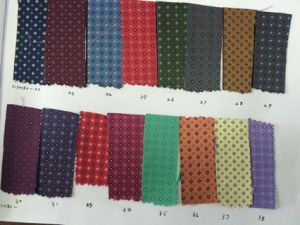 Latest Check DOT Design Micro Fibre Fabric Necktie pictures & photos