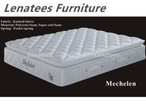 Elegant Europe Dessign Pillow Top Mattress pictures & photos