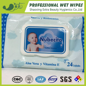 Baby Wipes 24PCS with Plastic Cap pictures & photos