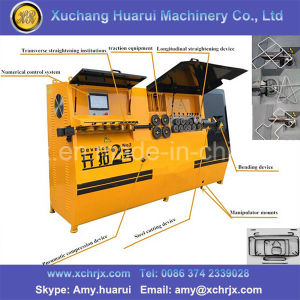 Steel Bar Cutting and Bending Machine/CNC Wire Bending Machine Price Low pictures & photos