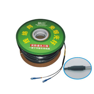 SMF/Single Mode 2 Core Fiber Optic Cables for Plug and Play Function