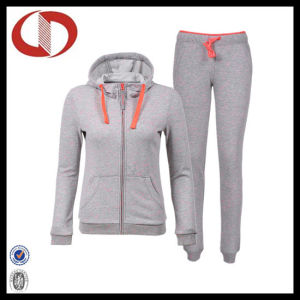 Custom Logo Simple Sports Women Running and Jogging Tracksuit pictures & photos