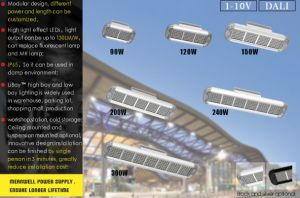 IP65 Brand Seoul 150W Linear LED High Bay Light for Narrow Aisle pictures & photos