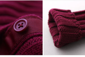 100% Wool Knitting Cardigan Children Apparel for Girls pictures & photos