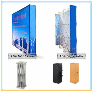 Hook & Loop Pop up Display Stands Banner Stands (12FT Curved) pictures & photos