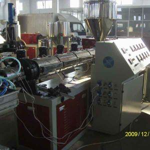 PP / PE / PVC Wood Plastic Profile Extrusion Machine pictures & photos