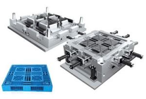Plastic Injection Plain Pallet /Tray Mould