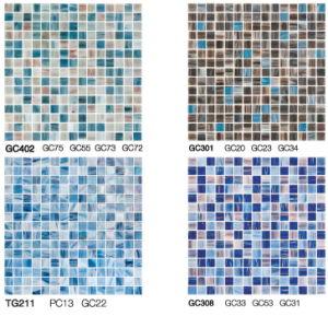 Moroccan Mosaic Tile Random Strip Glass Mosaic Tile Iridescent Glass Mosaic Tile pictures & photos
