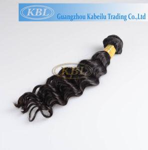 Human Hair Extension, Peruvian Deep Wave Hair pictures & photos