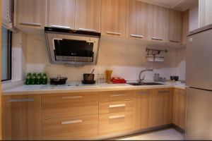 2017 New Design High Quality Wood Furniture Kitchen Cabinet Yb1709098 pictures & photos