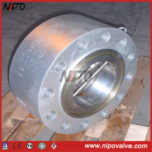 Forged Steel A105 Double Plate Lug Check Valve pictures & photos
