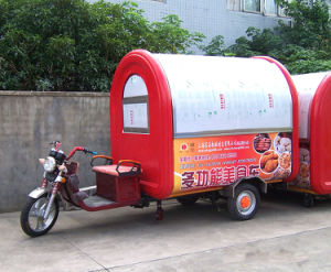 Battery Motor Food Cart; Vending Cart; Hot Dog Cart