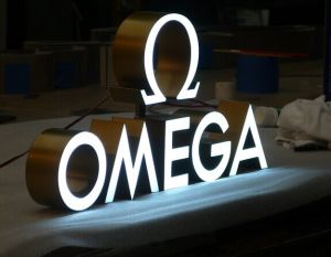 3d led plastic letters for outdoor signs