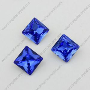 Sapphier Square Point Back Crystal Jewelry Stone Accessories pictures & photos